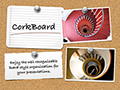 CorkBoard Keynote Theme for Mac