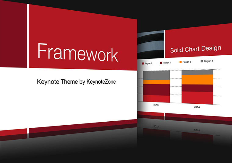 Framework Keynote theme for iOS