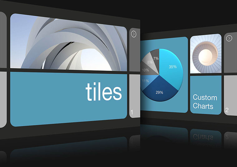 Tiles Keynote theme for Mac